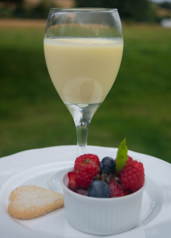 Lemon Posset - Wedding Catering Market Harborough