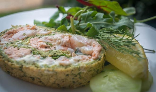 salmon-roulade